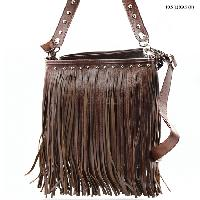 SOLID--533F-BROWN - WHOLESALE DESIGNER INSPIRED HANDBAGS