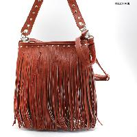 SOLID--533F-RED - WHOLESALE DESIGNER INSPIRED HANDBAGS