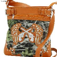 Guns & Wings Hipster Bags - Cross Body Camo Messenger Style Concealed Weapon Bags