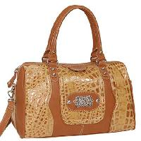 6262-BRZ - WHOLESALE ALL GENUINE DESIGNER LEATHER HANDBAGS