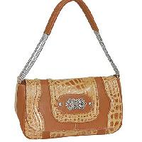 6263-BRONZE - WHOLESALE ALL GENUINE DESIGNER LEATHER HANDBAGS