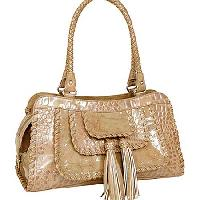 8232-CHAMP - WHOLESALE ALL GENUINE DESIGNER LEATHER HANDBAGS