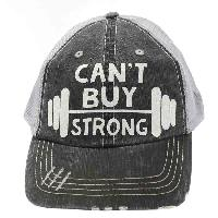 CANTBUYSTRONG-GY-WT