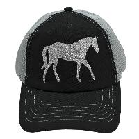 NEW-HORSE-BK/GY-SILV