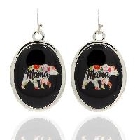 MAMBEAR-BLK-EARRINGS