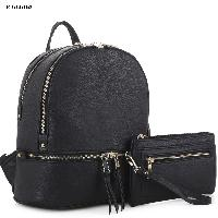 4034-BACKPACK-2PCSET-BLACK