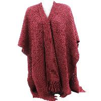 PONCHO-XL/LONG-RED