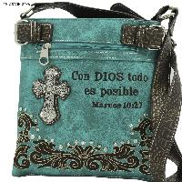 Spanish Bible Verse Purses