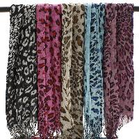 Leopard Print Scarves - Leopard Print Popular Style Assorted Scarves
