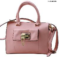 T1233-PINK - NEW DESIGNER INSPIRED RUNWAY PURSES