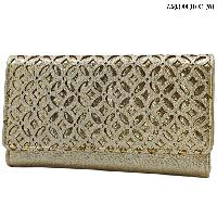 T2010-GOLD - WHOLESALE WOMENS WESTERN BUCKLE WALLET