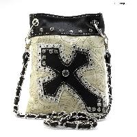 TL-930-BONE - WHOLESALE RHINESTONE CRYSTAL CELLPHONE CASES/POUCHES