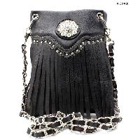FRIN-W34F-2030-BLACK - WHOLESALE RHINESTONE CRYSTAL CELLPHONE CASES/POUCHES