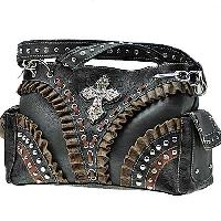 EGJ--847-BLACK -  WESTERN CROSS HANDBAGS