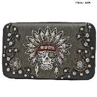 KEL-4326-BLACK - WHOLESALE WESTERN WALLETS