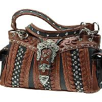 ODU-846-BLACK - WESTERN BUCKLE HANDBAGS