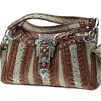 ODU-846-TAN - WESTERN BUCKLE HANDBAGS