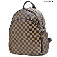 T-1209-BEIGE - DESIGNER INSPIRED BACKPACK STYLE BAGS