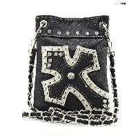 TM-930-BLACK - WHOLESALE RHINESTONE CRYSTAL CELLPHONE CASES/POUCHES